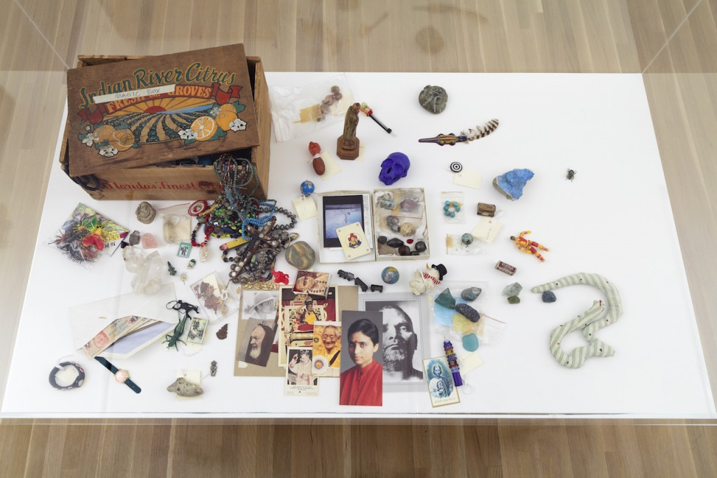 "David Wojnarowicz, ""Magic Box"" (n.d.) mixed media box, 8 x 11 1/2 x 17 in., from the David Wojnarowicz Papers, Fales Library and Special Collections, New York University (all images courtesy the artist and Galerie Buchholz, New York)"