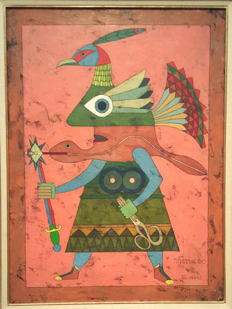 Victor Brauner, The Knight, August 1949 (1949)