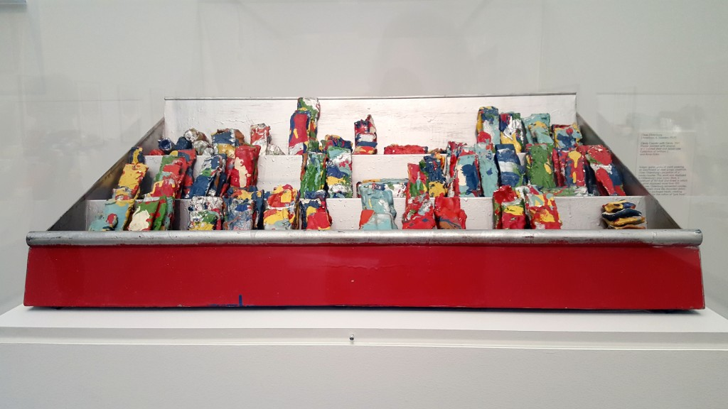 Claes Oldenberg, Candy Counter with Candy, 1961
